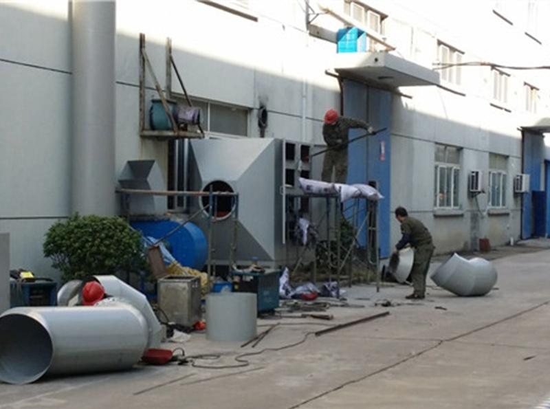 空气净化设备施工